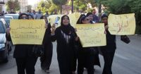 Rally Organized by Women Dressed in Black Lost in Women's Quota