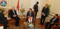 Freedom and Justice Chairman Meets With Italian PM Mario Monti