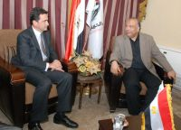 FJP Meets Spanish Ambassador in Cairo
