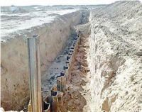 Sources: Egyptian steel wall along Gaza borders almost completed