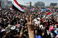 Demonstrators call for Mubarak's investigation