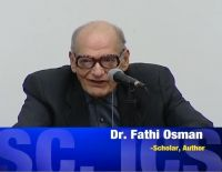 Ikhwanweb mourns the death of Moderate Islamic Scholar Dr. Fathi Osman