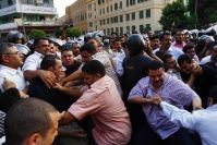 Eleven MB Houses Stormed and Five Leaders Arrested in the Lead Up to Egypt's Polls