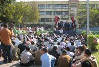 Alazhar students threaten to go on a  hunger strike.