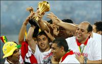 Badie congratulates Egypt 's National team on its African Cup win.