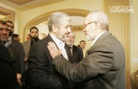MB Chairman Meets with Hamas Leader, Hails Prisoners Deal
