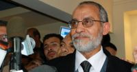 In his first weekly statement Badie stresses on the importance of consultation and democracy.