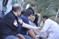 FJP Hosts Blood Drive in Isma'lyya, Runs Flea Market  in Al-Menya