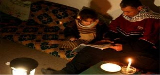Gaza sinks in complete darkness