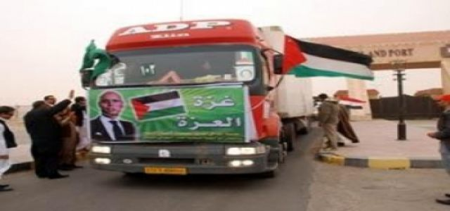 Iranian, Jordanian sea and land aid convoys head to Gaza soon