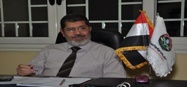 Morsi's Press Center Invites Media for Special Conference This Evening to Monitor Results