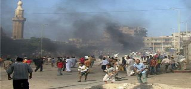 Egyptian Security Ends Al-Arish Protests, Attempts to Solve the Crisis