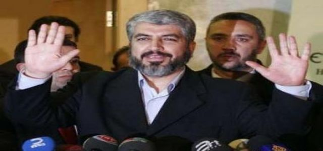 Mashaal: Ready to Hand Palestinian Presidential Premises Only After National Accord, National Securi