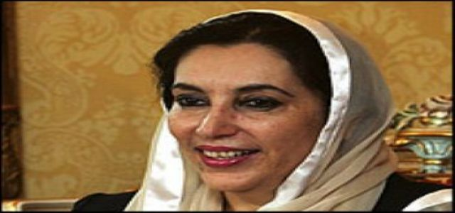 MB Condemn the Tragic Attack that killed Benazir Bhutto