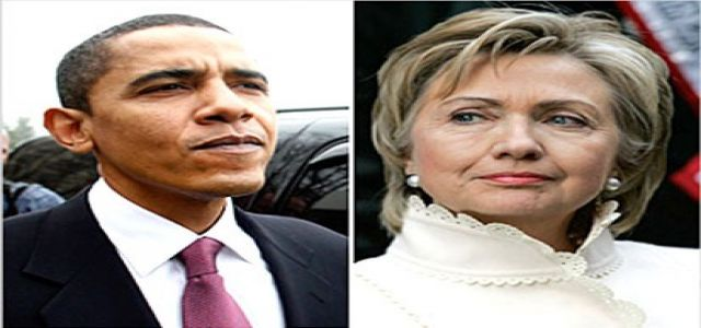 Behind Obama and Clinton