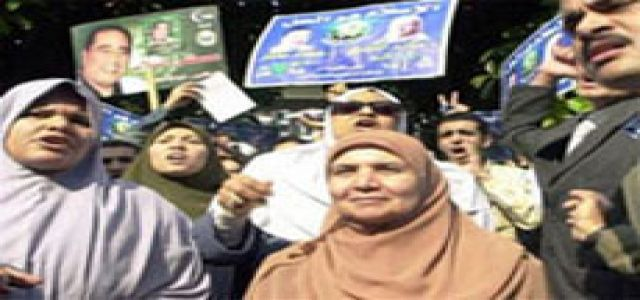 Egyptians Do Not Accept Having A Woman As President of the Republic