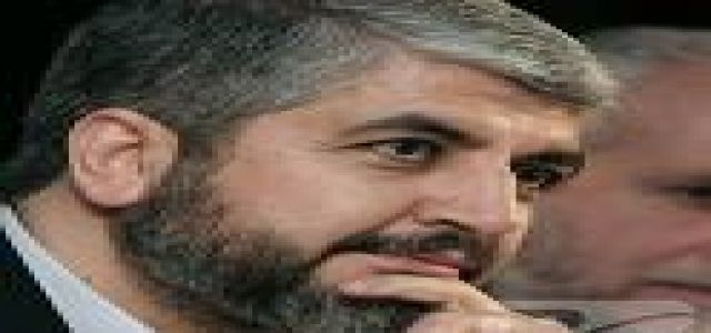 Hamas chief Khaled Meshaal: Who is qualified to judge others?
