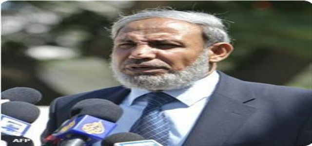 Zahhar: Egypt told us about Fatah reluctance to achieve reconciliation