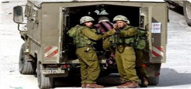 IOF troops kidnap Palestinian young woman