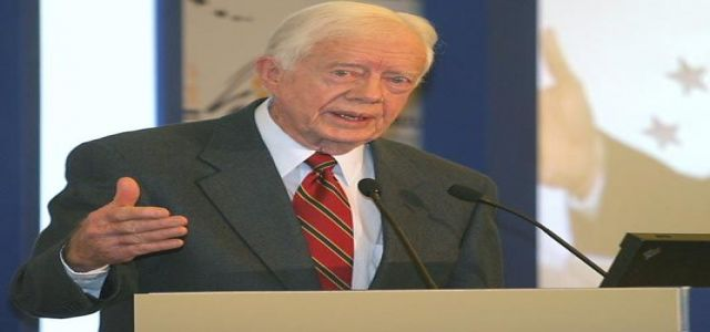Carter Says Palestinians Treated 'Like Animals'
