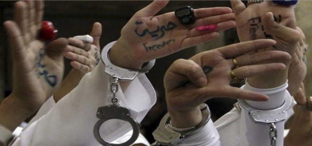 Rights Group: Detention Conditions of Egyptian Women, Girls in Sisi's Dark Dungeons Worsen