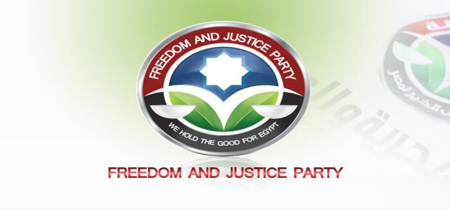 Freedom and Justice Party Statement Denouncing Sunday Coptic Church Clashes