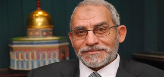 MB chairman calls on Egyptian regime to come to its senses