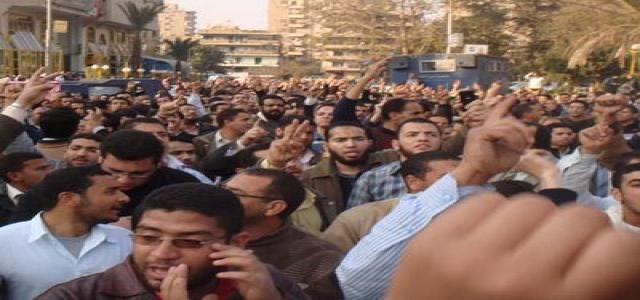 Two Hundred Members of The MB Detained, Ten Injured