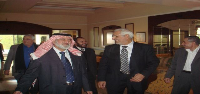 Islamists in Jordan call for support of Palestinian resistance.