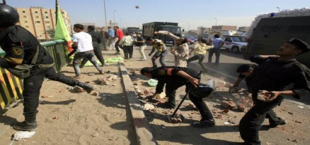 Fierce Police and Christian Clashes in Egypt over Church Construction