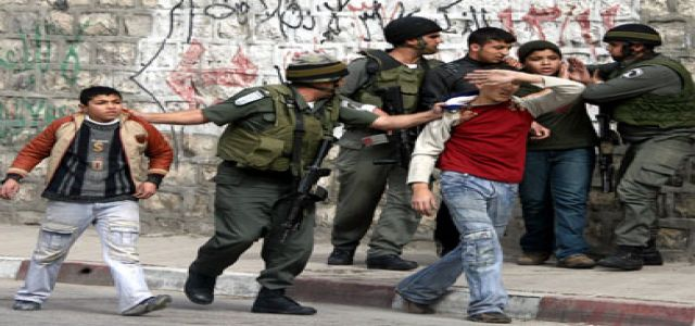 IOF troops round up 1,400 Palestinians in 3 months