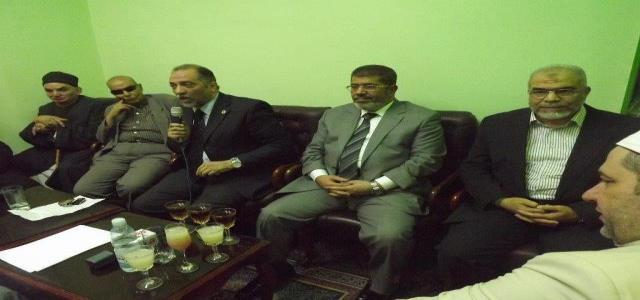Dr. Morsi in Sufi Orders Meeting: the Ruler is Meant to Serve the People