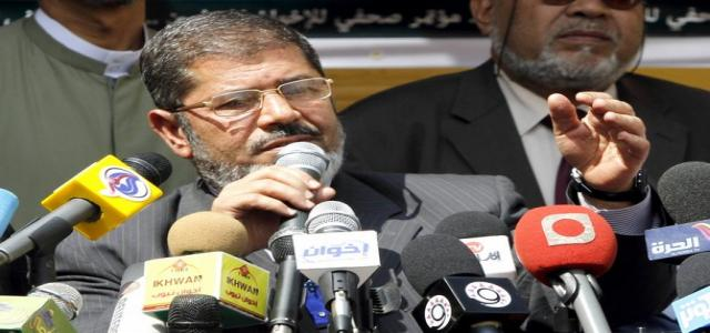 Morsy to French Ambassador: FJP Committed to Democracy and Rule of Law