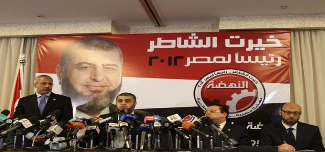 Al-Shater, After Disqualification Decision: What Matters is Freedom, the Revolution