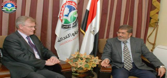 Morsi: Freedom and Justice Party to Introduce Bill in Parliament Regulating NGOs