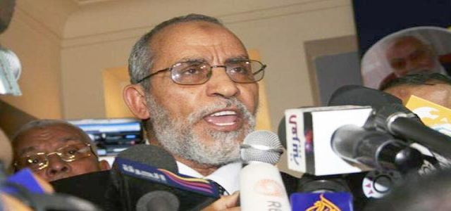 Letter from the MB  New Chairman Mohammed Badie'
