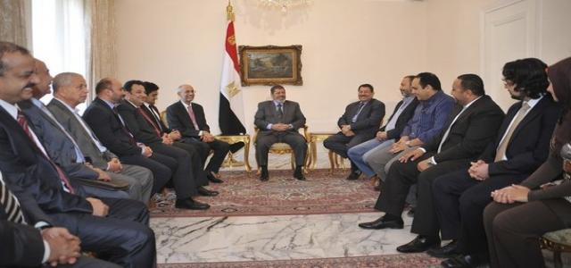 Egyptian President-Elect Meets with Youth and Revolutionary Representatives