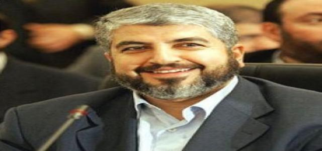 Interview with Hamas chief Khaled Meshal