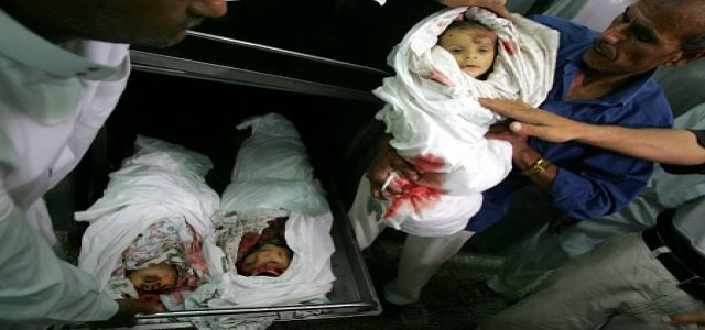 Death of baby brings the death toll in the siege on Gaza to 374