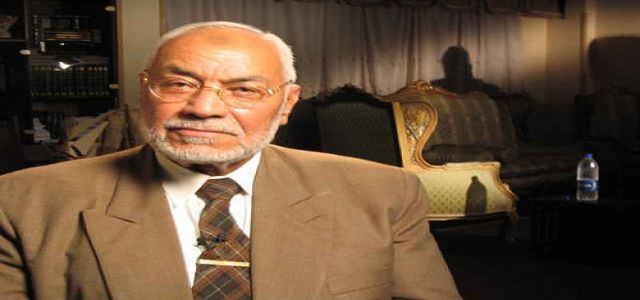 Chairman of the Muslim Brotherhood denies fabricated allegations of his resignation.