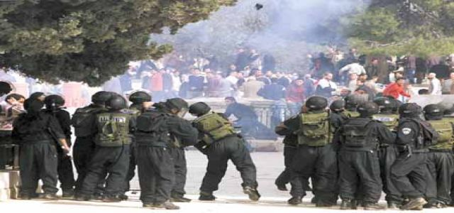 IOF violently suppresses weekly peaceful protest at Nil'in