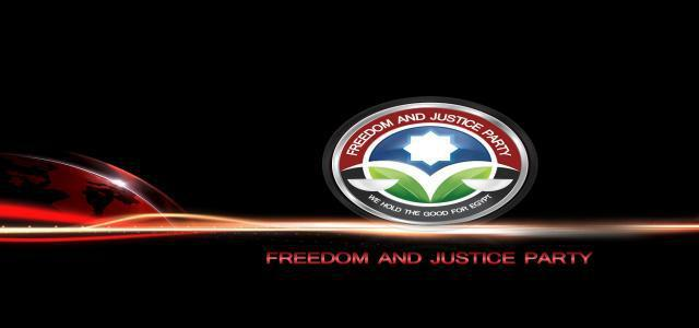 Freedom and Justice Party Statement on Criminal Coup Government Resignation
