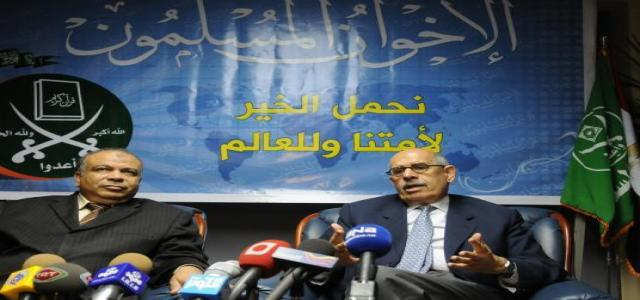El-Baradei Meets the MB and Al-Wafd Before Travelling