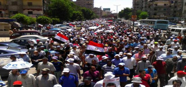 Egypt Anti-Coup Alliance Calls 'Save the Poor' Revolutionary Protest Week