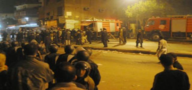 Residents Clash with Police at Cairo's Warraq Police Station
