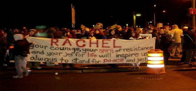 Rachel Corrie and the image of Israel