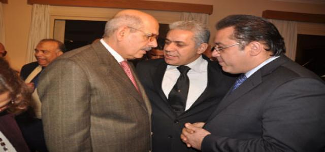 ElBaradei Denied Entry in Journalists' Syndicate