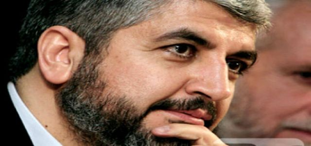 Mishaal: We rejected an Arab deal calling for recognizing Israel