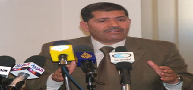 Dr. Morsy denies accusations by Al-Ahram newspaper