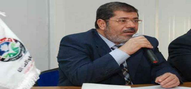 Dr. Morsi: We Respect Court Decisions, Seek Real Consensus on Constitution